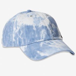 NWT VS Pink Blue Tie Dye Baseball Hat